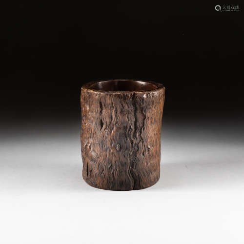 18-19th Antique Wood Pot