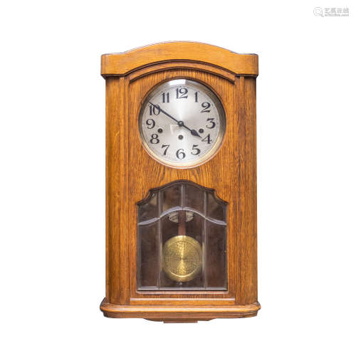 French Vintage Fontenoy Fontenay Chimming Wall Clock