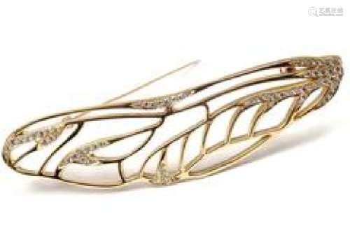 Tiffany & Co Angela Cummings 18k Yellow Gold Diamond