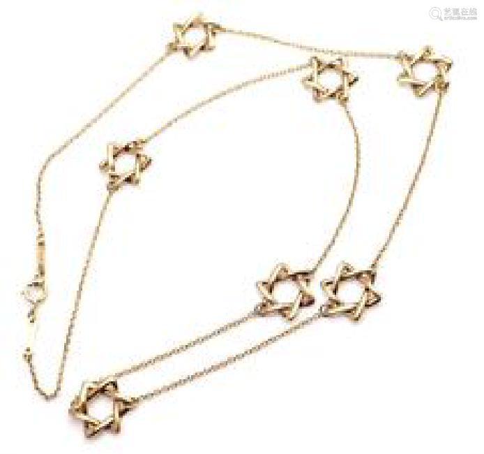 Tiffany & Co. Elsa Peretti 18k Yellow Gold Star Of