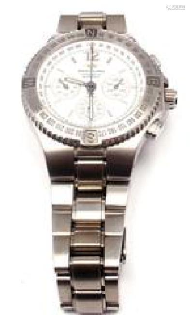 Breitling Hercules Chronograph Stainless Steel