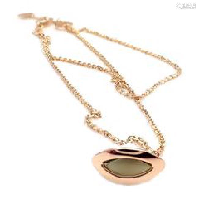 Bvlgari Bulgari 18k Rose Gold Bell Diva Dream Bracelet