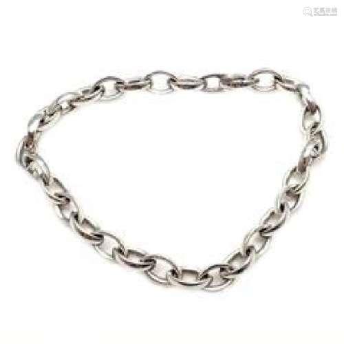 Piaget 18k White Gold Link Bracelet 7.5
