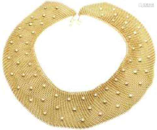 Tiffany & Co Elsa Peretti 18k Yellow Gold Diamond Large