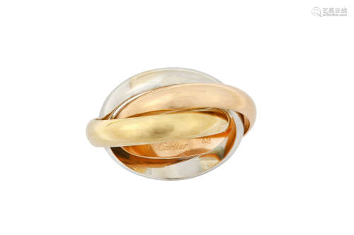 A 'Trinity Must Essence' ring, by Cartier