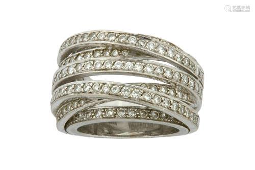 Adiamond dress ring
