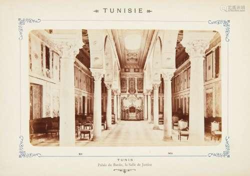 ALBUM Tunis & environs, fin XIXème Vingt quatre ép...;
