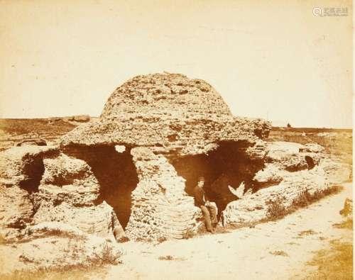 PARTIE D'ALBUM Afrique du Nord, fin XIXème siècle....;