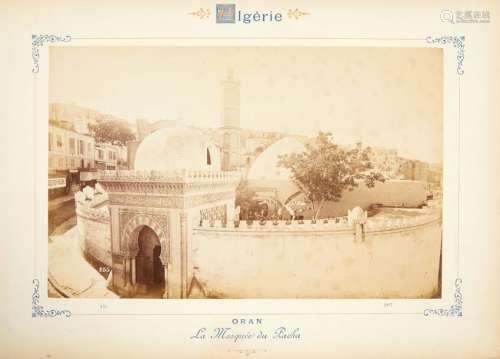 ALBUM «Oran», fin XIXeme siècle. Inscription au cr...;
