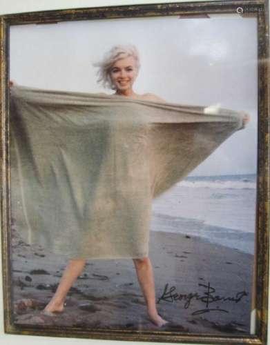 Framed Monroe Photograph