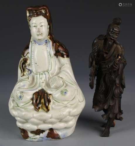 Asian Wood Figures