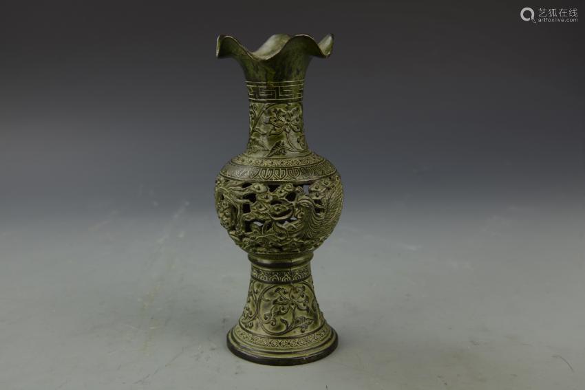 Chinese Antique Bronze Vase