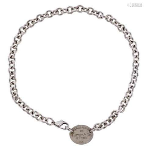 Tiffany & Co Return To Sterling Silver Necklace