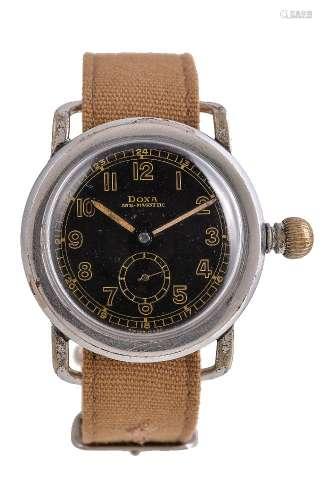 Doxa,Base metal pilot wrist watch
