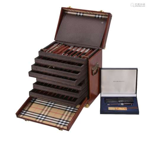 Burberry fine writing instruments by Pentel