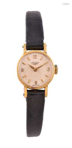 Longines, Lady's 18 carat gold wristwatch