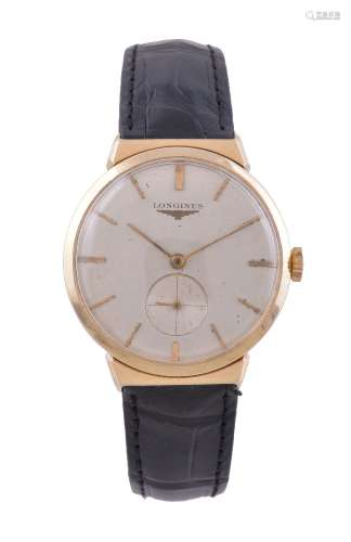 Longines,Gold coloured wristwatch