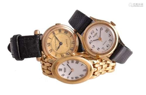 Beuche-Girod,Lady's 9 carat gold wrist watch