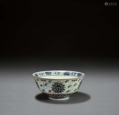 A CHINESE PORCELAIN BOWL, GUANGXU MARK AND PERIOD