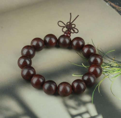 红酸枝1.5cm手串