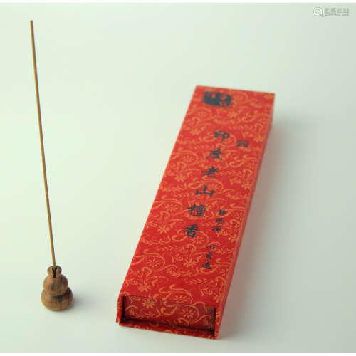 印度老山檀香线香50克装(配葫芦头香插)