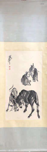 ZHOU HUANG <DONKEY 5> PAINTING