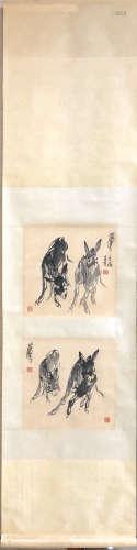 ZHOU HUANG <DONKEY 4> PAINTING