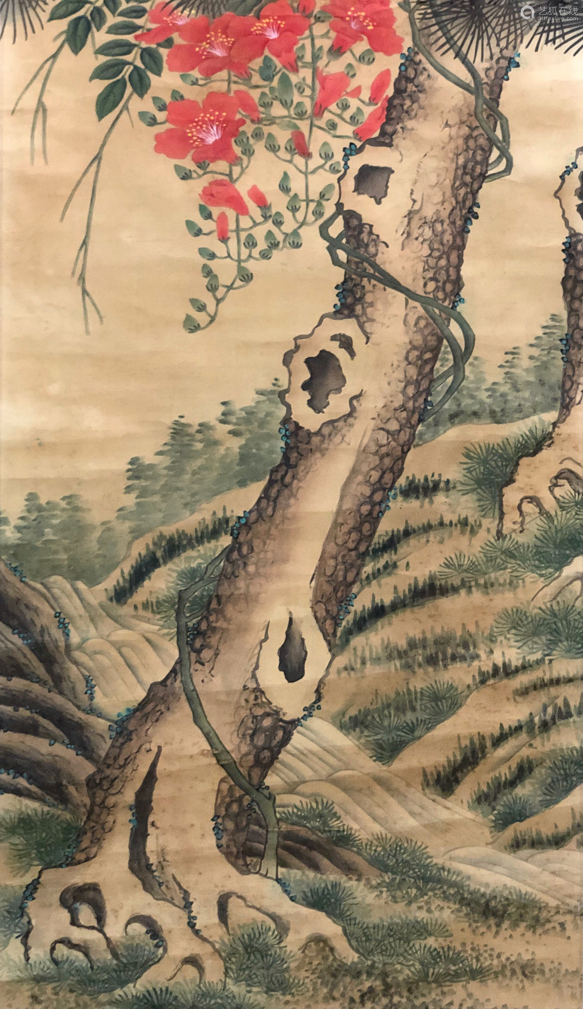 17-19TH CENTURY, UNKNOW <SONG QUAN SHAN YING> PAINTING, QING DYNASTY