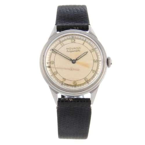 MOVADO - a gentleman's Tempomatic wrist watch.