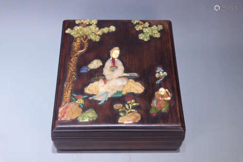 A STORY DEISGN ROSEWOOD BOX
