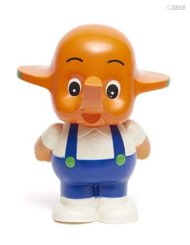 Mascotte de pharmacie japonaise Sato chan, éléphan…