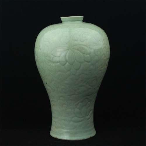A Chinese Celadon Porcelain Vase