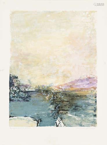 赵无极 (1921-2013)抽象