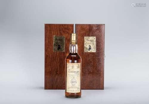 Coopers Choice 蘇格蘭桶匠單一純麥1975年 Glenlivet陳年威士忌 二瓶