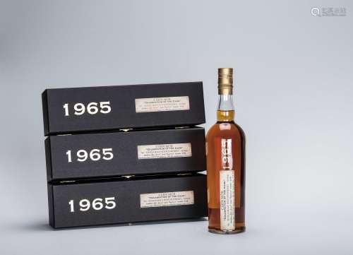 卡蒙Carn Mor 1965年限量珍藏單一純麥蘇格蘭威士忌 三瓶