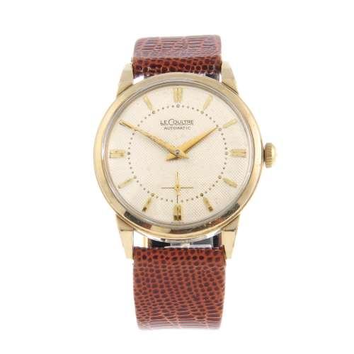 LECOULTRE - a gentleman's wrist watch.