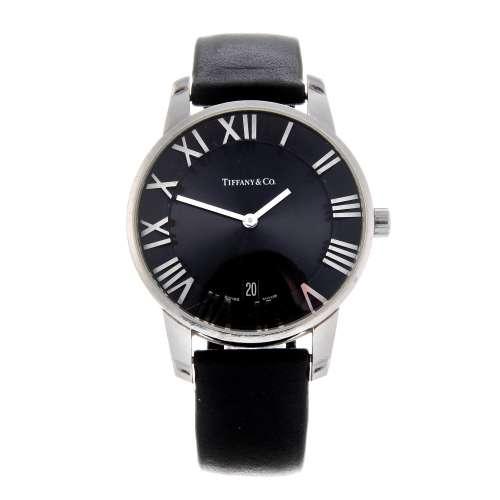TIFFANY & CO. - a gentleman's Atlas wrist watch.