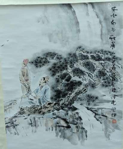 劉國輝 - 山水人物