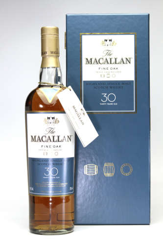 MACALLAN 30年威士忌(共箱)
