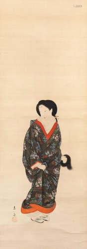 Edo period (1615-1868) or Meiji era (1868-1912), circa 1850-1878 Kikuchi Yosai (1781-1878)