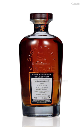 高原骑士22年-1990 圣弗力 (一瓶)