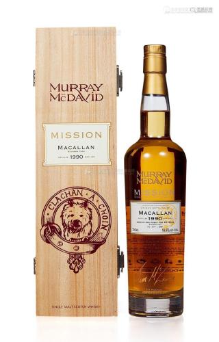 麦卡伦20年-1990 穆雷.麦克戴维 (一瓶)