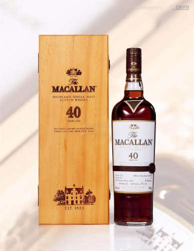麦卡伦 40年 (一瓶)