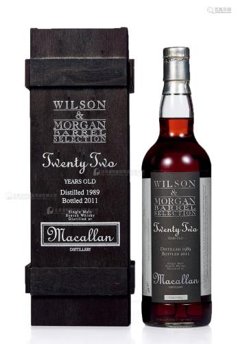 麦卡伦22年-1989 威尔森摩根 (一瓶)
