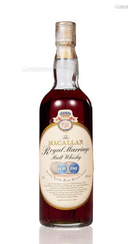 麦卡伦 1948、1961 皇家婚礼 (一瓶)