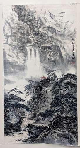 李筱孫 山水 紙本 立軸