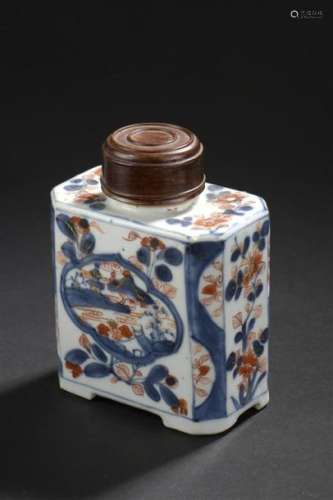 Boîte à thé en porcelaine Imari chinois Chine, XVI...;