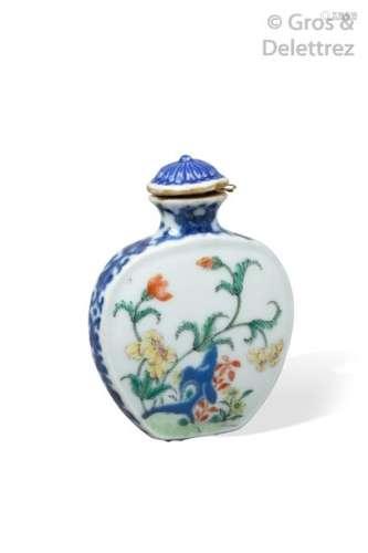 Chine, XIXe siècle Flacon tabatière en forme gourd…
