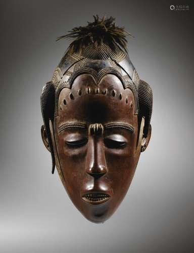 Masque, Guro, Côte d'Ivoire