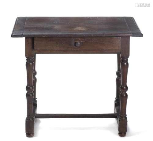 Petite table d'appoint rustique en bois